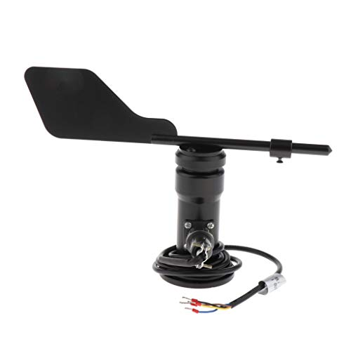 Almencla RS485 Veleta Giraldilla Sensor Meteorológico 23 * 11CM para Pronostico de Clima, Eventos Agrícolasetc...