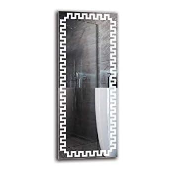 Specchio LED Premium Specchio con Illuminazione Dimensioni dello Specchio 40x40 cm Specchio a Muro Bianco Caldo 3000K ARTTOR M1CP-46-40x40 Specchio per Bagno Pronto per Essere Appeso