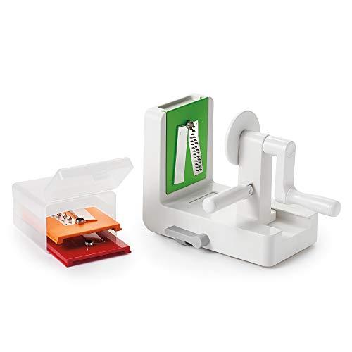 OXO Good Grips Spiralschneider, Kunststoff, weiß, grün, orange, rot