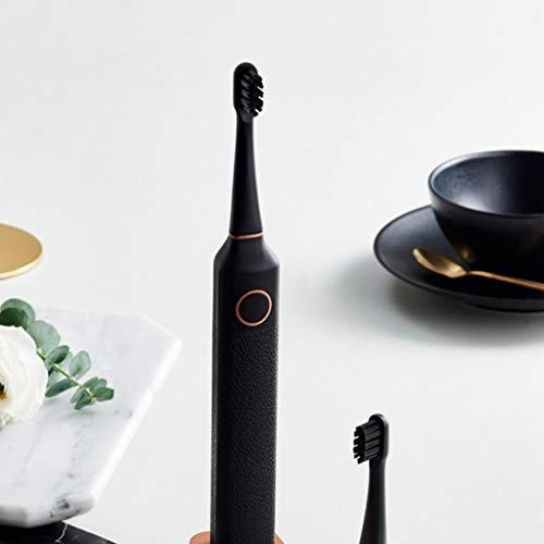 Liudan Mund reinigen Elektrische Zahnbürste for Erwachsene Lade weiches Fell Bleaching automatische Männer und Frauen Paar, Freundin, Geschenk Schallzahnbürste