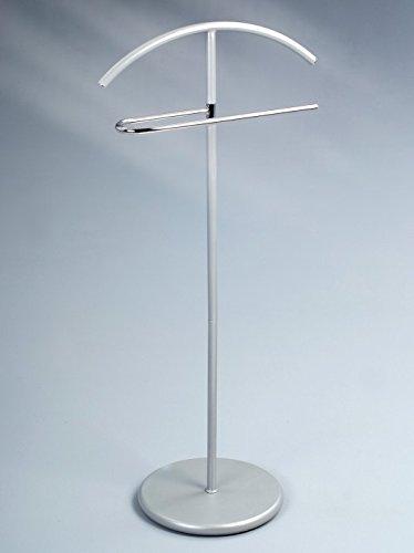 HomeTrends4You 825464 Herrendiener, 46 x 104 x 30 cm, metall silber