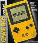 Game boy pocket yellow console - PAL...