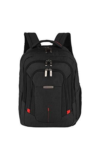 Travelite Organisiert verpackt: Mehrteilige Business-Gepäckserie @work für Ihre erfolgreiche Geschäftsreise Rucksack, 45 cm, 25 Liter, schwarz