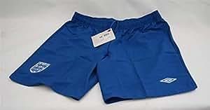 Offizielle Umbro England-Kit Home Women's Football Match Shorts Uk Size 10 (Größe M): BNWT