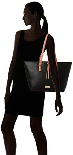 Henley - Fearne, Borsa Tote Donna Black (Black/Pink)