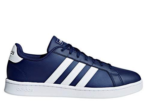 adidas Herren Grand Court Tennisschuhe, Blau (Azuosc Ftwbla 000), 44 EU