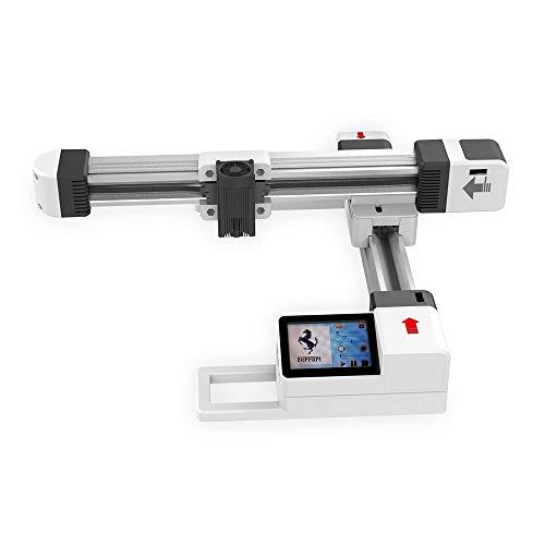 Offline-USB-Lasergravurmaschine,Mini-Graviermaschine 3000mW Offline-Lasergraviermaschine USB Mini-Desktop-Lasergravierfräser für Edelstahl, lackierte Metalloberfläche, Holz, Kunststoff -