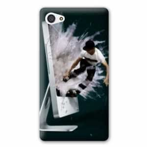 Coque Sony Xperia Z5 Compact Sport Glisse - roller mac N
