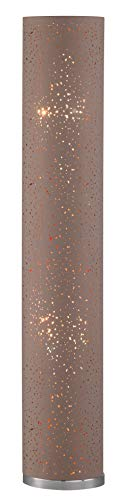 Fischer Metall nickelfarben, Acrylscheibe