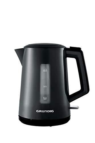 Grundig WK4620 Wasserkocher, 2200 W, 1,7 L, Kunststoff, 1.7 liters, Schwarz