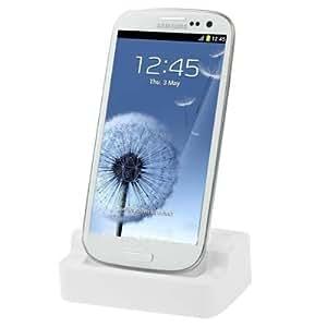 Totalcase Dockingstation Ladekabel Samsung Galaxy S2 S3 S4 S6 Edge mini Ladestation Netzteil HTC Micro USB