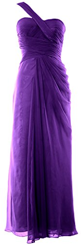 MACloth - Robe - Asymétrique - Sans Manche - Femme Violet