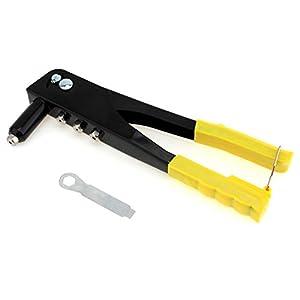 LZHJ Pistola Remachadora Manual, Herramienta Manual de reparación de Pistola Remachadora emergente de Doble Mango, Kit de Remache