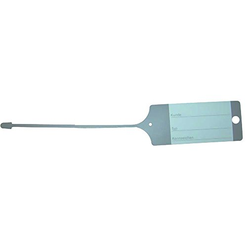 Preisvergleich Produktbild Eichner PP-Schlüsselanhänger 100stk grau 100 Stück 9208-648 4052301005037