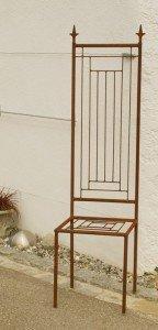 Gartenstuhl Rost Eisen Motiv Modern Stuhl