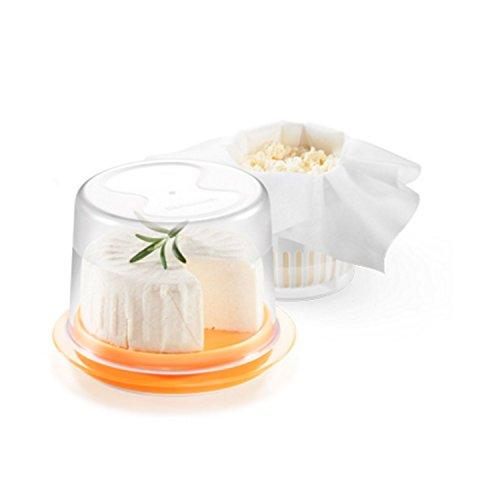 Plastica resistente alta qualita' 5 canovacci tnt riutilizzabiliIdeale per preparare e conservare formaggi morbidiRicette incluse