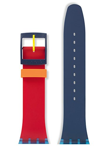 Swatch Cinturino di ricambio Color MY Lacquered, 19 mm (ASUOS101)