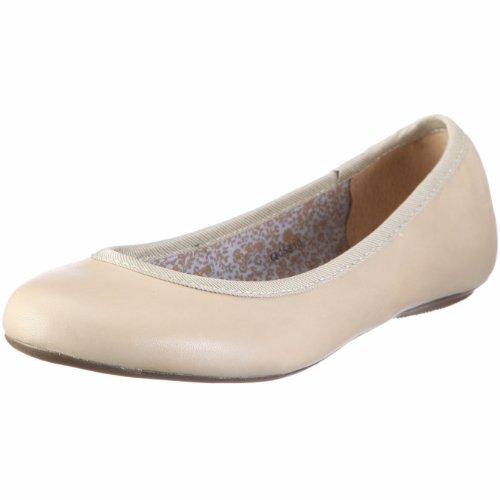 ESPRIT ALOA BALLERINA Q05510, Damen, Ballerinas, Beige (light beige 297), EU 37