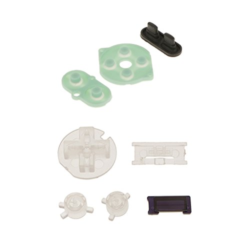 Segolike Rubber Conductive Pad + A B Buttons D-pad For Nintendo Gameboy Color GBC