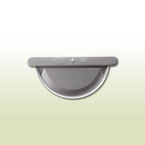 Zink Lötrinnenboden halbrund RG 333 mm Universal
