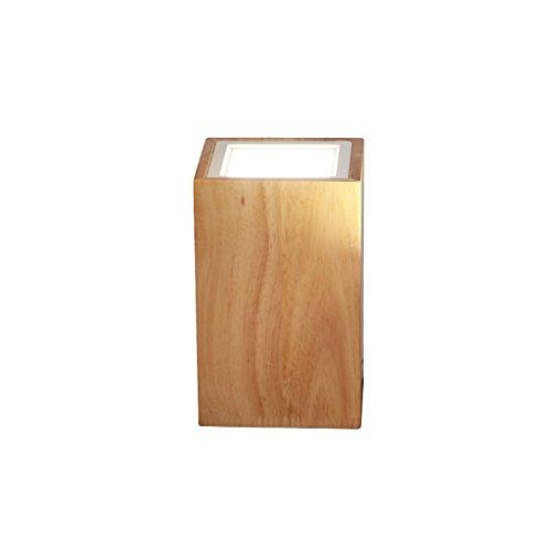 Plafonniers GAOLILI Creative LED Downlight Salon Chambre Allée Magasin De Vêtements Fond Mur en Bois Massif (Taille : B-95 * 150mm)