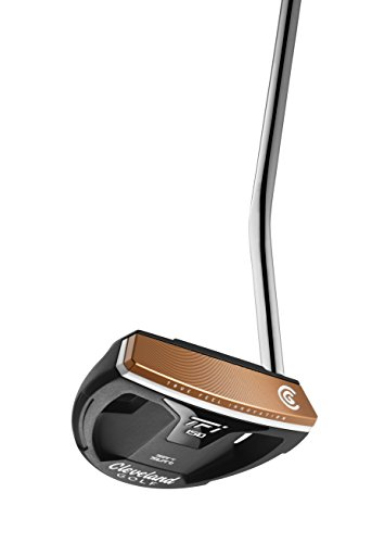 Cleveland Golf pour homme Tfi ISO Putter Maillet, Homme, rouge/marron