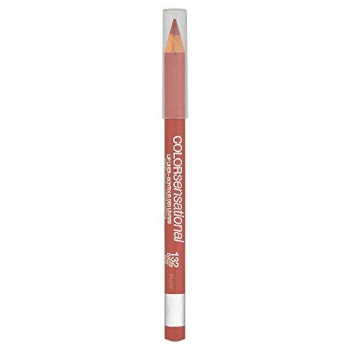 Maybelline Color Sensational Lipliner Nr. 132 Sweet Pink, Lippenkonturenstift, für eine makellose...