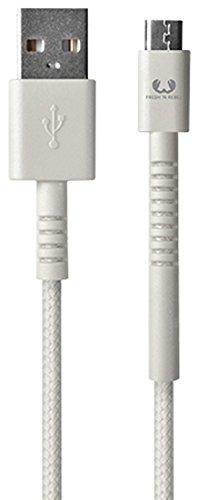 Fresh 'n Rebel Fabriq Micro-USB Cable 3m - Cloud - Cargador (Auto, Interior, Universal, USB, Contacto, Camuflaje, 3 m)