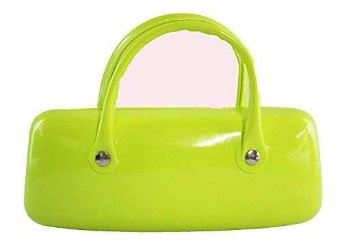 Ofa Products Trendy Vert Fluo Étui à Lunettes avec Anse Double 6 X 2.5inches / 15 X 6cm Env. Génial Cadeau