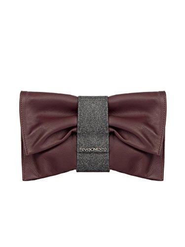 "Pochette ""Fiocco"" RINASCIMENTO A/I 2018 ACV0010779003 Bordeaux"