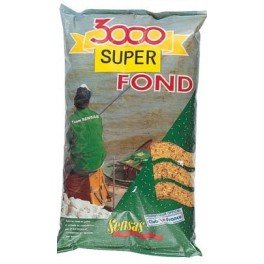 SENSAS AMORCE 3000 SUPER FOND 1KG