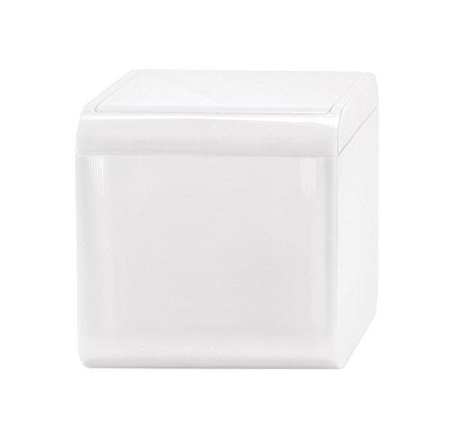 Kleine Wolke 5818114858 Mini-Kosmetikeimer Bobby, Volumen 1,5 L, Plastik, 12,5 x 12,5 x 12,5 cm,...
