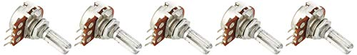 5Stück 10K Ohm 13mm lang Schaft Single Linear Rotary Taper Potentiometer de