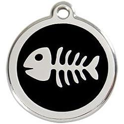 Red Dingo Médaille pour Chat Arêtes Noir