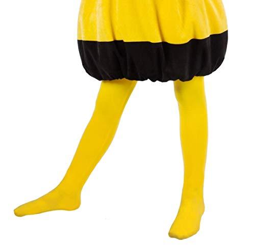 Maskworld Biene Maja - Strumpfhose für Kinder - Kostümzubehör- 98/116 (3-6 Jahre) (Kind Willie Kostüm)