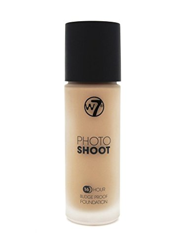 W7 Photoshoot Glass foundation - Embellir votre teint - Type - Loose Sand Beige