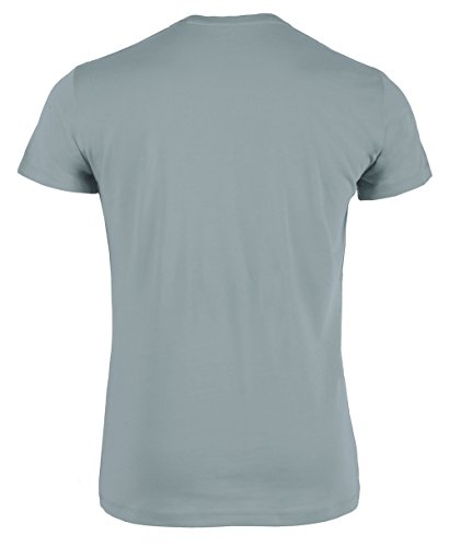 YTWOO Herren Rundhals Tshirt Aus 100% Bio-Baumwolle- in Diversen Farben Schwarz und Weiß bis 2XL - Organic, Herren Bio Shirt, Herren Bio T-Shirt Citadel