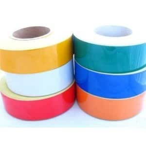JNE New Reflective Self-Adhesive Tape/Vinyl 50mm x 10m Roll -- Green