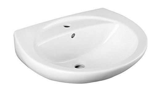 Cornat Waschtisch EMOTION weiß/Waschbecken / Handwaschbecken/Badkeramik / Badezimmer / WTBD816000
