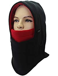 Thermal Balaclava Full Face Ski Mask,Outdoor Sports Mask Hood Hat for Cycling Motorcycling Unisex Neck Warmers Adjustable Size Windproof Headgear.