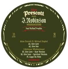 "Adam Prescott Meets J.Robinson WhoDemSound Ft Michael Prophet (180g 12"")"