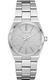 Michael Kors Damen-Uhren Analog Quarz One Size Silber Edelstahl 32001209