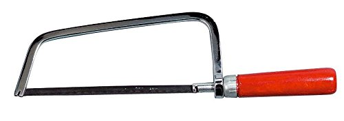 Preisvergleich Produktbild Bastelsäge mit Sägeblatt 29 cm Kleinsäge Bügelsäge Handsäge Holzsäge Säge