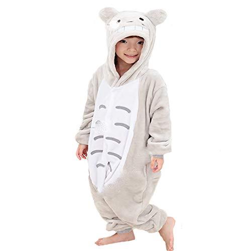 BERTHACC Karneval Halloween Pyjamas Schlafanzug Mit Kapuze Erwachsene Cosplay Kostüm,Kostüm Overall Tier Nachtwäsche,Chinchilla,115 (Chinchilla Kostüm Halloween)