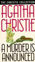 Book cover for A Murder Is Announced