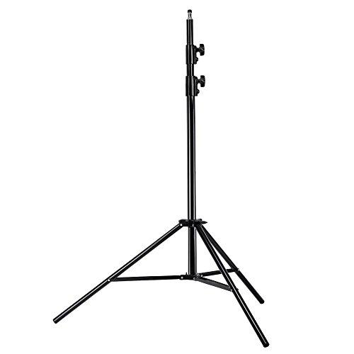 Neewer Pro Luce Supporto Studio Fotografico in Lega di Alluminio per Video, Ritratto e Illuminazione Fotografica, 260 cm