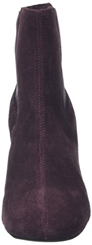 Bronx Bx 995, Bottes Classiques femme Rouge (Aubergine 86)