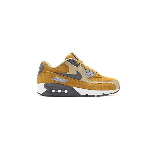 Sneaker Nike Air Max 90 Premium Desert Braun-Schwarz-Weiß