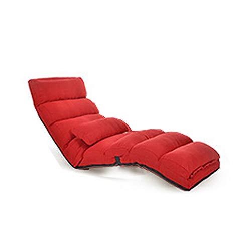 Textura algodón y Lino Cama Doble Plegable de Uso único para Interiores y Exteriores Viaje Multifuncional Rollsnownow (Color : Red)