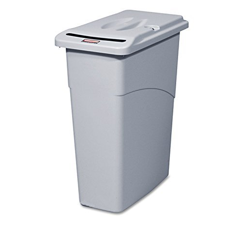 rubbermaid-commercial-slim-jim-confidential-document-receptacle-w-lid-rectangle-23gal-light-gray-9w1